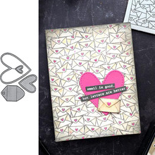 Love Mail Metal Cutting Dies for Scrapbooking and Cards Making Paper Craft New 2019