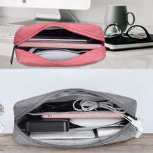 Travel Storage Portable Digital Accessories Gadget Devices Organizer USB Cable Charger Storage Case Travel Cable Organizer Bag все цены