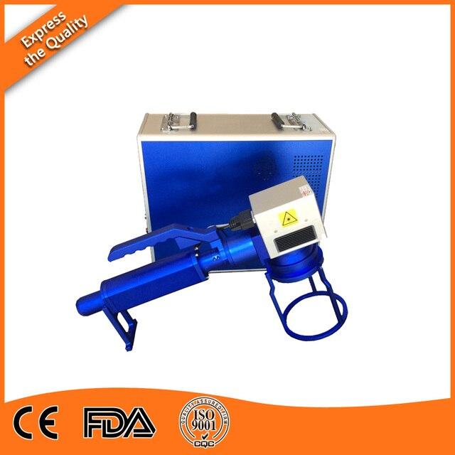 Cheap Handheld 10W Fiber Laser Marking Machine for VIN Number Coding in Michigan