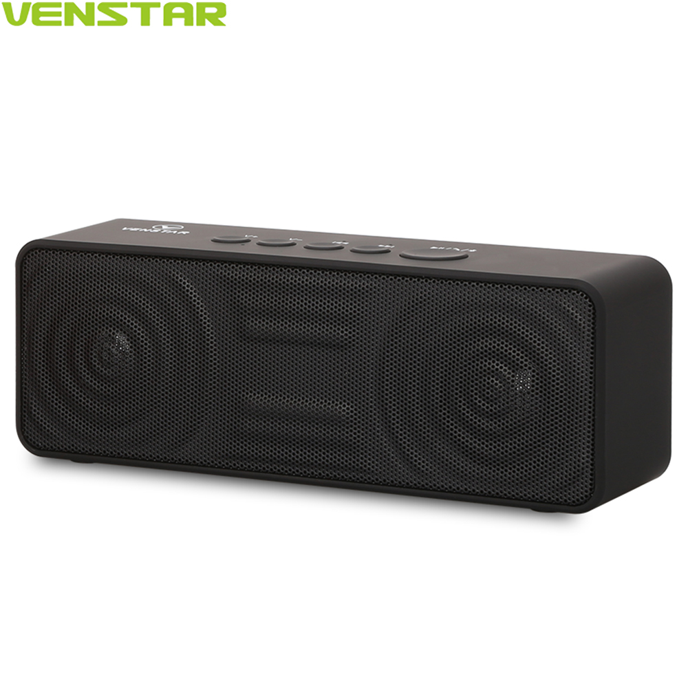 VENSTAR S207 Mini Bluetooth Wireless Speaker Built in 10W Powerful Subwoofer 2800mAh Lithium Battery with Microphone