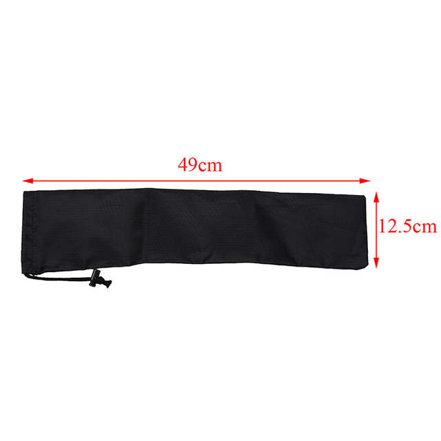 1PC Tent Pegs Bag Camping Tent Accessories Hammer Wind Rope Tent Nail Storage Pouch Cover Case Travelling Supplies 49cm x 12.5cm