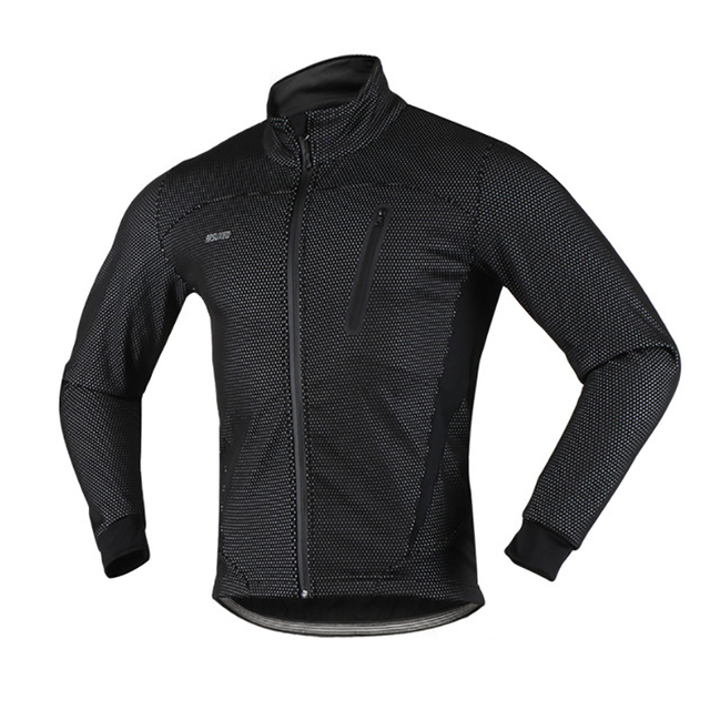 Winter Fleece Thermal Cycling Jacket Outdoor Sports Windproof