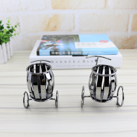 Home Decoration Accessories Wrought Iron Bicycle Pen Holder Creative Desktop Decoration Boutique Gift Decoration Small Gift Multan