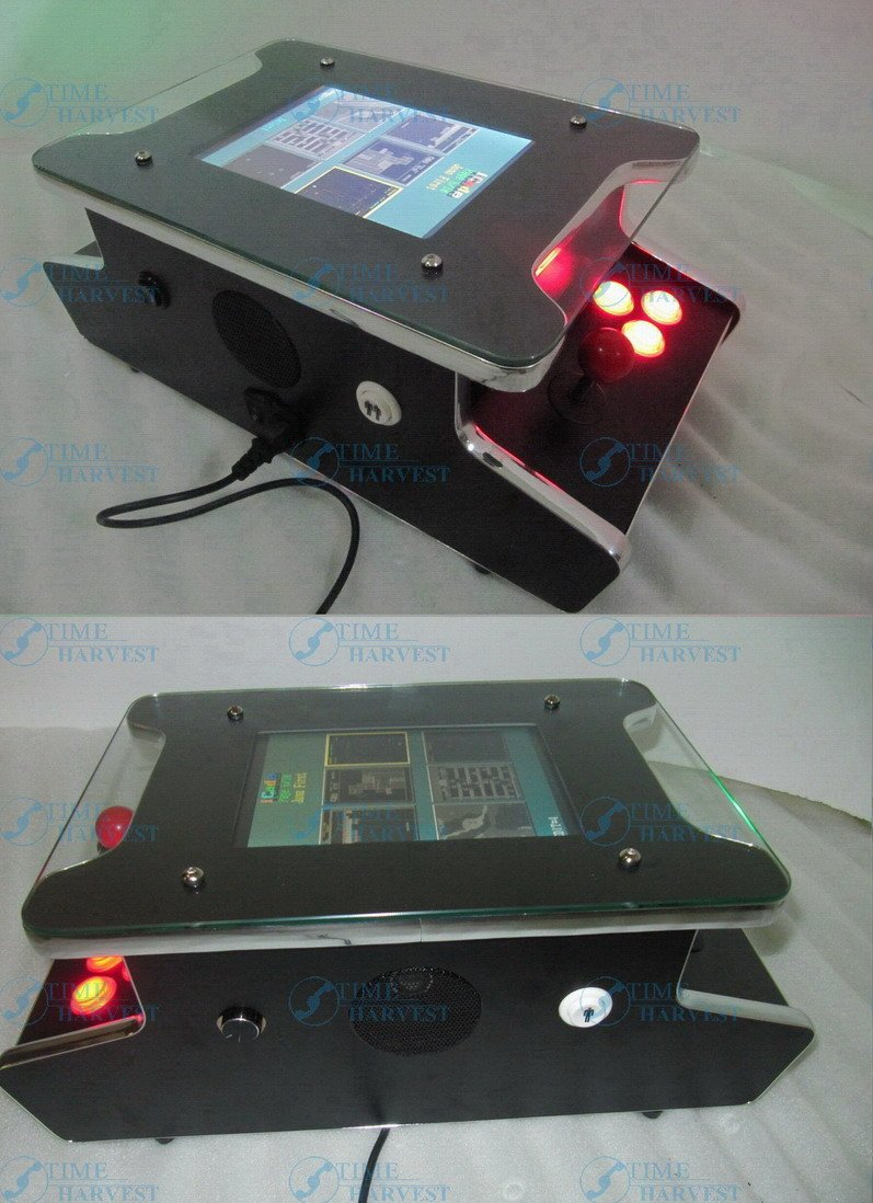 New 10.4 inch LCD Mini Table Cocktail Machine With Classical games 60 In 1 Game PCB Mini Arcade Machine Mini LCD coffee table free shipping multi game pcb 7x casino multigame pcb red slot game board 7 in 1 poker games for casino machine gambling machine