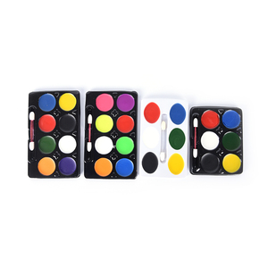 5/6/8 Colors Body Makeup Non Toxic Water Paint Oil Body Face Painting Kit With Brush For Christmas Fancy Carnival Vibrant Party