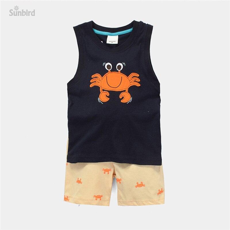 ᗗJTS183, cangrejo, 6 set/lote, muchachos de los niños del verano ...