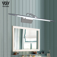 Free Shipping AC110V 220V Stainless Steel LED Mirror Light Bathroom 7W Wall Lights 58cm Waterproof Anti fog Wall Lamp