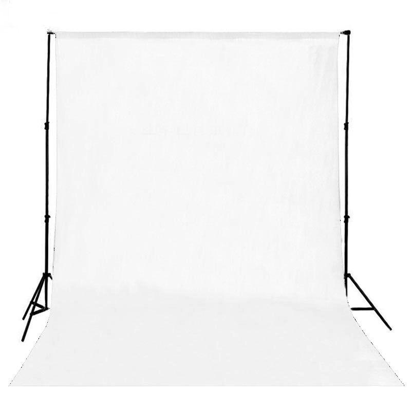 DAWNKNOW écran Blanc coton Mousseline fond Photographie Solide toile de fond de couleur éclairage studio Chromakey