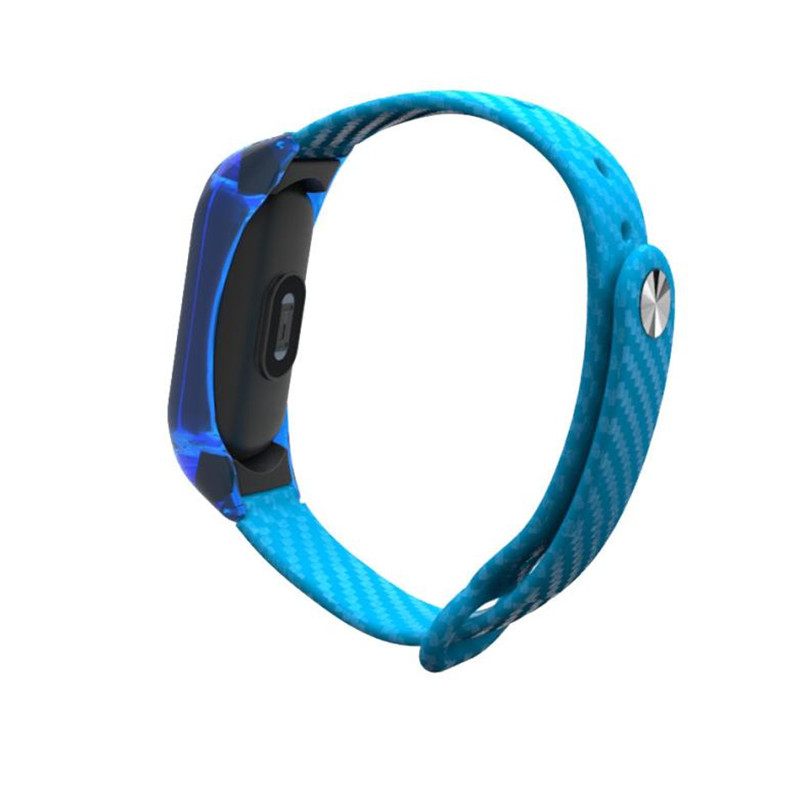 Fashion Clear TPE Wristband Sport Style Strap NEW Durable Smart Watch Band Bracelet For Xiaomi Mi Band 2 July24