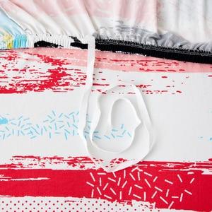 Image 5 - Parkshin Colorato 1/2/3/4 Seater Fodera Stretch Divano Coperture Mobili Protezione Poliestere Divano a Due Posti Divano Copertura Divano asciugamano