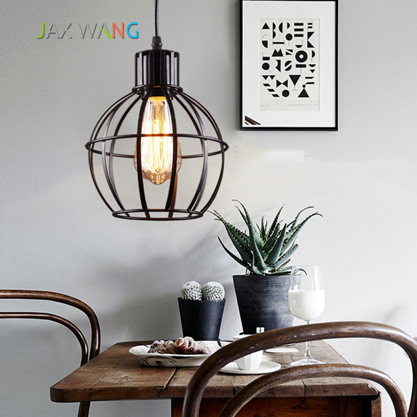 Modern Simple Loft Pendant Lamp Creative Individuality Restaurant Bar Iron Art Industrial Wind Pendant Light Living Room HangingModern Simple Loft Pendant Lamp Creative Individuality Restaurant Bar Iron Art Industrial Wind Pendant Light Living Room Hanging