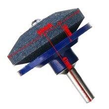 Afilador de cuchilla de taladro giratorio Universal, para cortacésped, herramientas de molienda, herramientas de jardín, Mayitr, 2 uds.