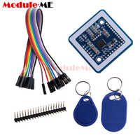 Contactless 14443A Card Encoder IC Card Reader Writer with 5pcs Cards 5pcs  Key Fob USB Interface 13 56MHZ RFID FOR ARDUINO