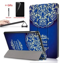 Ultra Slim PU Leather Case For ipad 9.7 2017 2018 A1823 A1954 Stand Tablet + PC Hard Back Smart Cover For Apple ipad 2018 Case