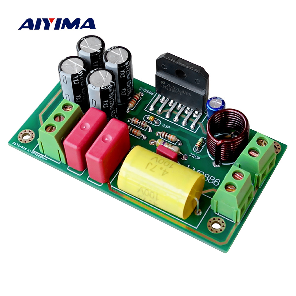 Steady Lm3886 Subwoofer Audio Amplifier Board Bass Amp 68w Kits For 2 Frequency Divider Preamp Linquets Back To Search Resultsconsumer Electronics