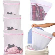HOT 3 Sizes Underwear Clothes Aid Bra Socks Laundry Washing Machine Net Mesh Bag  91V8