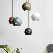 Nordic LED G9 Hemisphere Pendant Lights Postmodernism Northern Europe LED Simple Lamp AC 90-260V  Bedroom Parlor Study Hanglamp