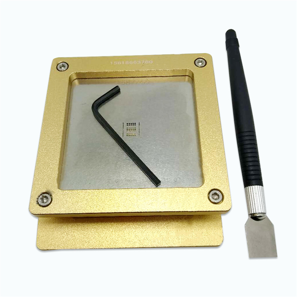 For Antminer Tin Tool for S9 S9J Hash Board Repair Chip Plate Holder Tin Fixture BM1387-in Replacement Parts & Accessories from Consumer Electronics
