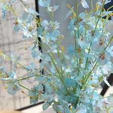10 Stems Butterfly Orchid Silk Flower Simulation Artificial Wedding Real Touch