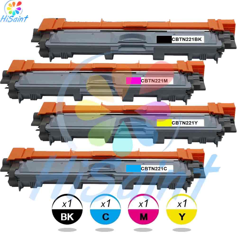 Подробнее о HOT Compatible Toner Cartridge Replacement for Brother TN221BK TN221C TN221M TN221Y Used For HL-3170CDW MFC-9130CW(BK C M Y 4PK) hisaint listing hot cool toner compatible toner cartridge replacement for hp ce250a ce251a ce252a ce253a bk c m y 4 pack best