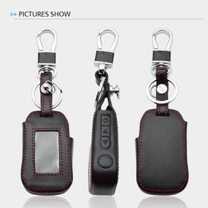 Image 5 - Lederen Sleutel Case Voor Starline A92 A94 A62 A64 A95 Twee Weg Auto Alarm Lcd Afstandsbediening Zender Sleutelhanger Protector cover Bag