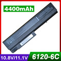 4400mAh laptop battery for HP 6910p NC6110 NC6120 NC6200 NC6220 NX5100 NX6100 NX6120 NX6140 NX6310 NX6320