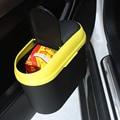 Coloful Bolsa De Basura Basura Coche Puede cubo de Basura Del Coche Organizador Puerta del coche Mini Caja De Almacenamiento Portátil Puede Basura Car Styling accesorios