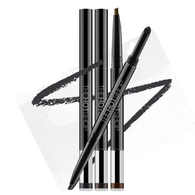 1pcs New Automatic Eyebrow Pencil Makeup 3 Style Paint For Eyebrows Brushes Cosmetics Brow Eye Liner Tools Brow Pencil