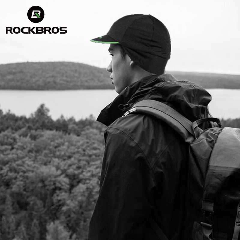 ROCKBROS Bersepeda Sepeda Sepeda Memakai Topi Pria Termal Musim Dingin Bulu Hangat Olahraga Topi Memancing Berjalan Ski Earmuffs Topi