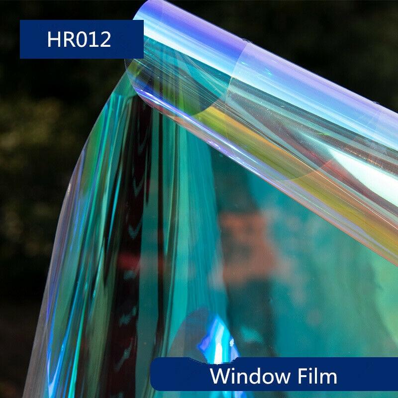 1.37x20 m/54''x66ft décoratif auto-adhésif fenêtre Film coloré caméléon verre teinte dégradé pravglacial autocollant