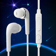 White Hands Free Earphones Mini Stereo Sports Earphones Headset Headphones w/ Mic Universal For Xiaomi iPhone SAMSUNG Note 7 PC