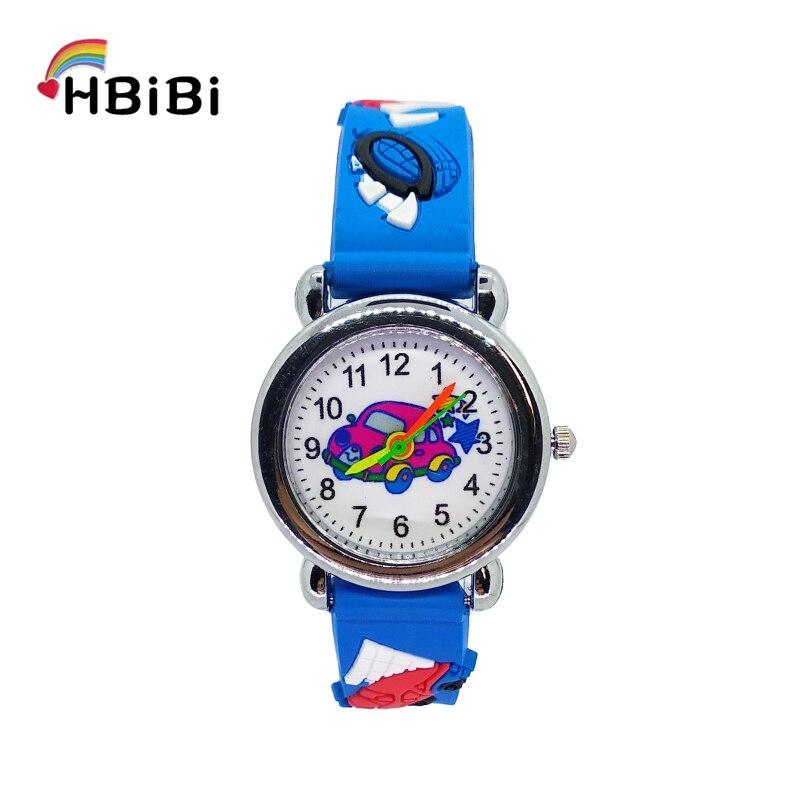 Low Price Good Quality Children Watch Cartoon Car Mobilization Kids Watches Students Girls Boys Clock Child Quartz Wristwatches