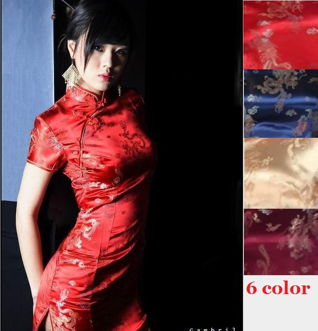 red sexy chinese dresses chinese red qipao oriental styled dresses satin chinese style modern cheongsam oriental silk dress floral chiffon dress long sleeve