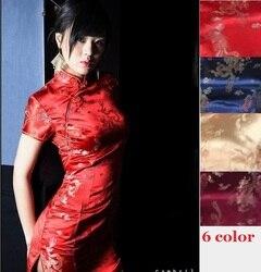 Vermelho chinês sexy vestidos vestidos de cetim estilo chinês moderno de estilo oriental chinês qipao vermelho cheongsam vestido de seda oriental