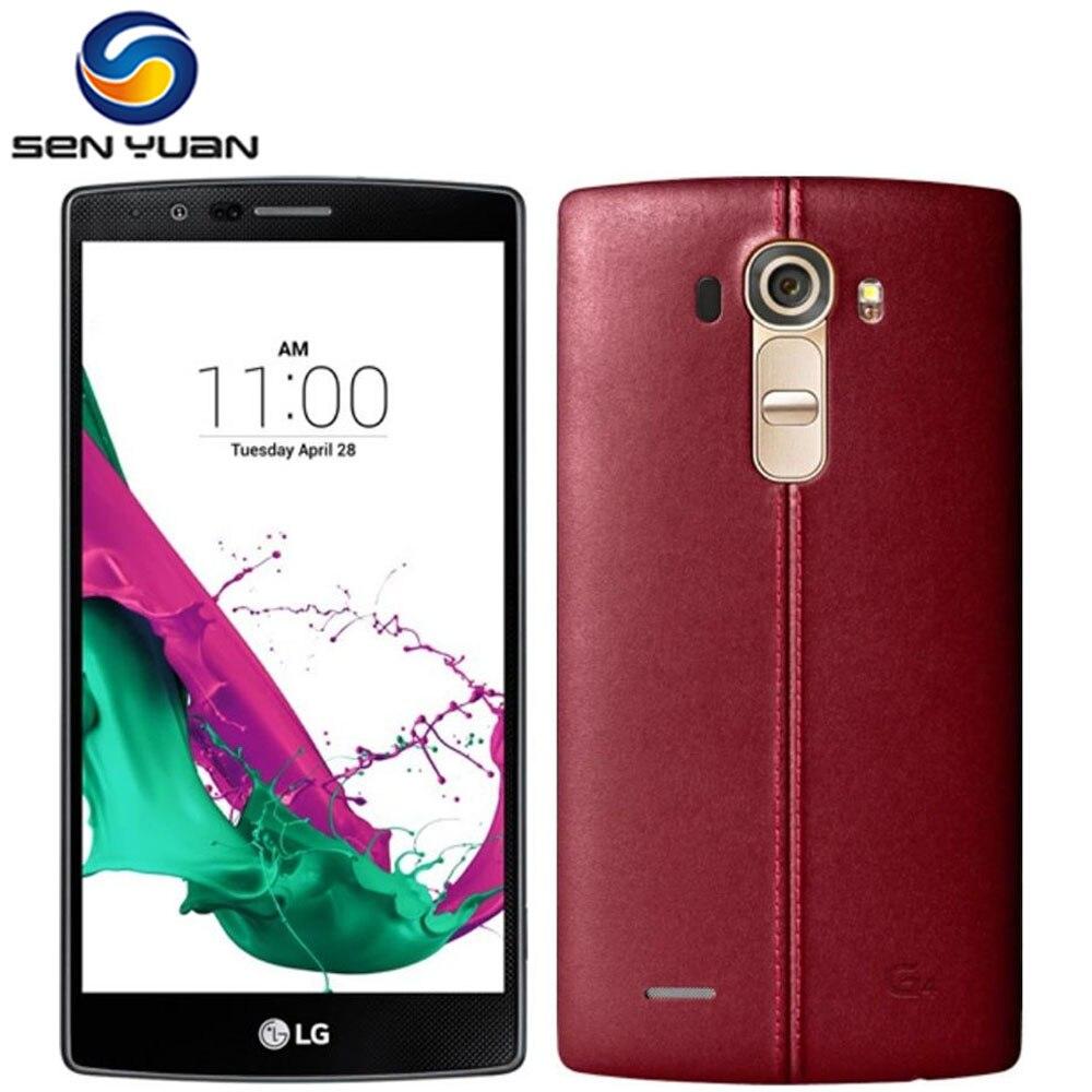 """bilder für Ursprünglicher freigesetzter lg g4 h810 h815 handy 16mp kamera gps 5,5 """"Touchscreen 3G & 4G Hexa-core 3 GB RAM 32 GB Rom G4 telefon"""