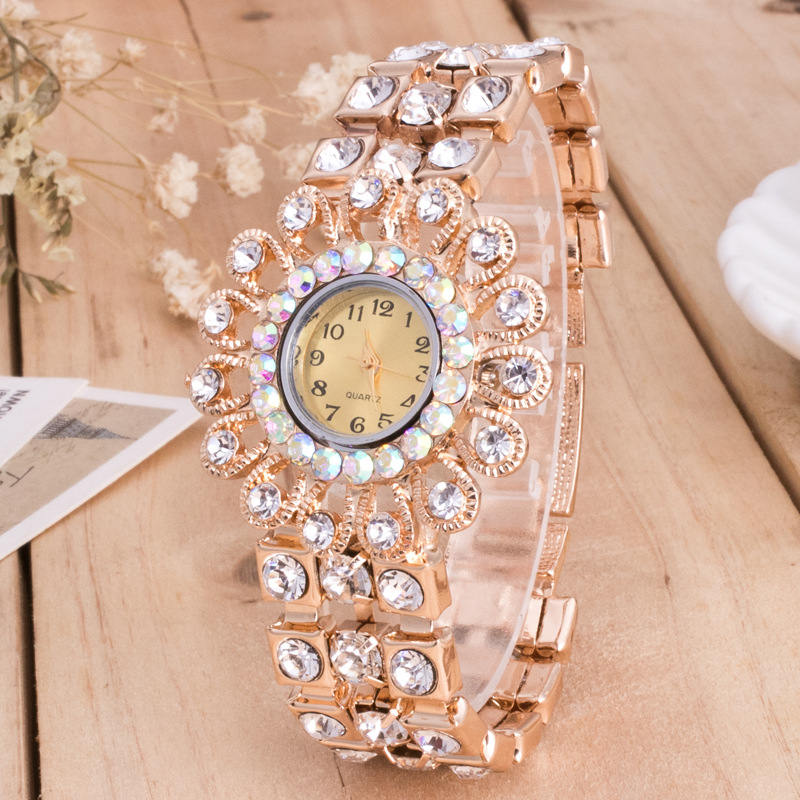 Women's Watch Trend Fashion Ladies Watch Rhinestone Retro Fashion Watch Bracelet Watch Bracelet Watch retro rhinestone rattan butterfly bracelet with ring