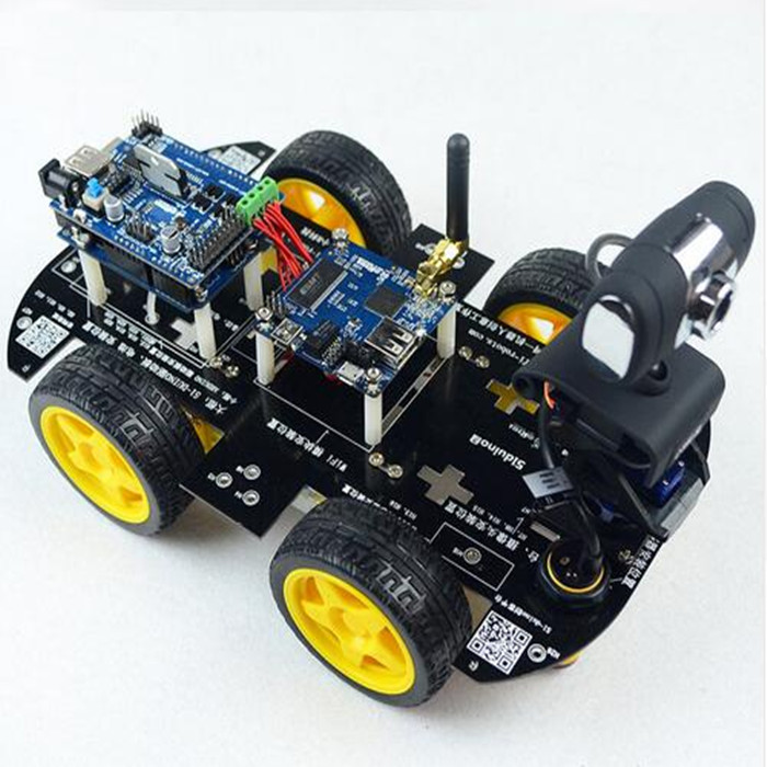 Wifi smart car robot kit for arduino ios video