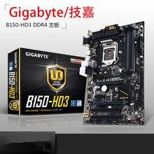 Для gigabyte b150-hd3 ga-b150-hd3 оригинальный новый рабочего материнская плата для intel lga 1151 для i3 i5 i7 b150 ddr4 64 г atx
