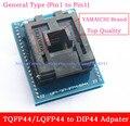 Высокое Качество Общего Типа (pin1 чтобы Pin1) TQFP44 к DIP44/TQFP44 LQFP44 к DIP44 адаптер розетка Программист socket/IC Адаптер