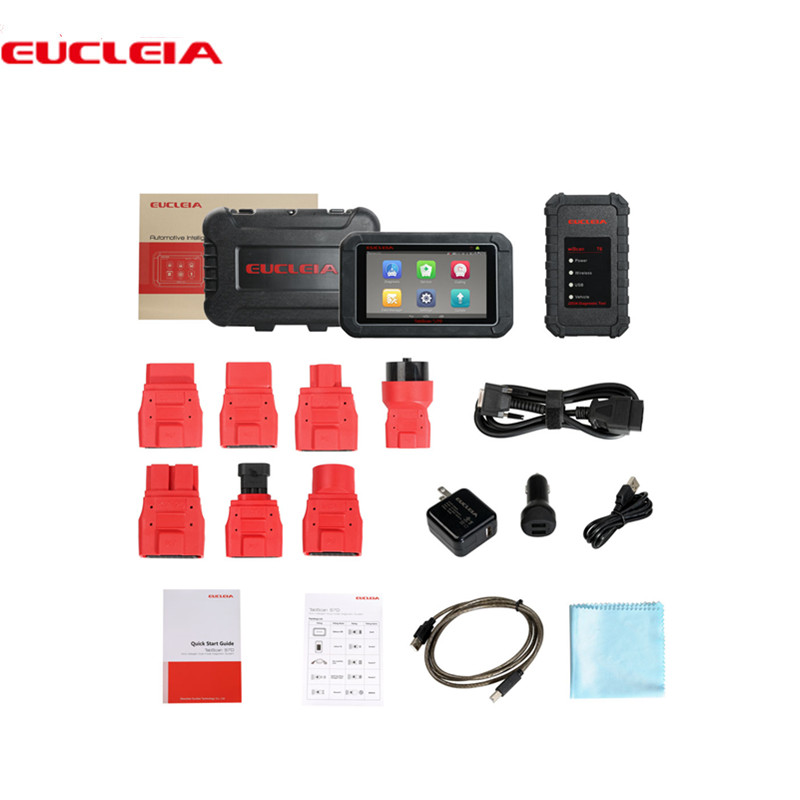 EUCLEIA TabScan S7D Auto Intelligente Dual-mode Sistema Diagnostico
