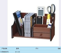Wood Business Card Holder Stationery Receive A Case Hot Sell Pen Holder Free Shipping