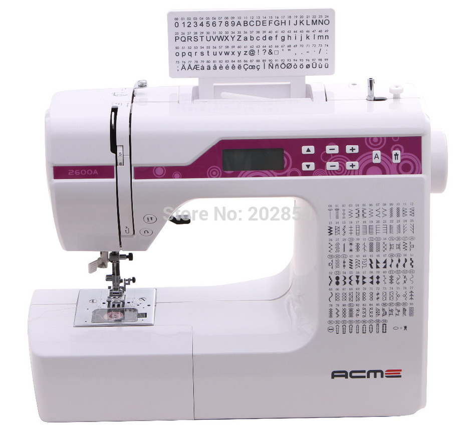 New household multi function sewing machine with
