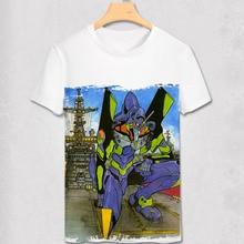 T Shirt Shinji Ikari shirt Japanese Anime Custom Cosplay Shirt EVA Robit Transformation T-shirt