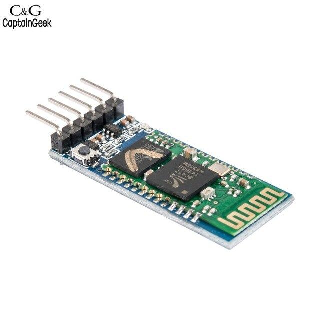 2016 cheaper HC-05 Integrated Bluetooth Module Wireless Serial Port Module New for Arduino 68