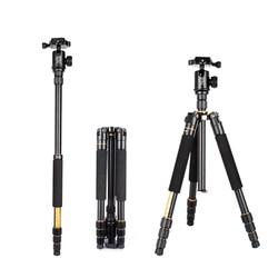 Q-999S Tripod 1460mm 6KG Camera Tripod with Detachable Ballhead Kit For Digital SLR
