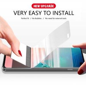 Image 2 - CHYI 3D kavisli Film Samsung A50 a30 Galaxy S10 5G S10 + S10E S8 S8 + S9 S9 + Not 9 10 artı ekran koruyucu değil temperli cam