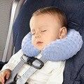 Crianças Proteção lavável Bebê Travesseiro Forma de U Pescoço Travesseiro Assento de Carro Almofada Almofada de Dormir Super Macio Travesseiros Infláveis
