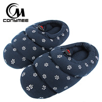 CONYMEE Winter Shoes Women Home Slippers Warm Cotton Slippers For Women Indoor Floor Slipper