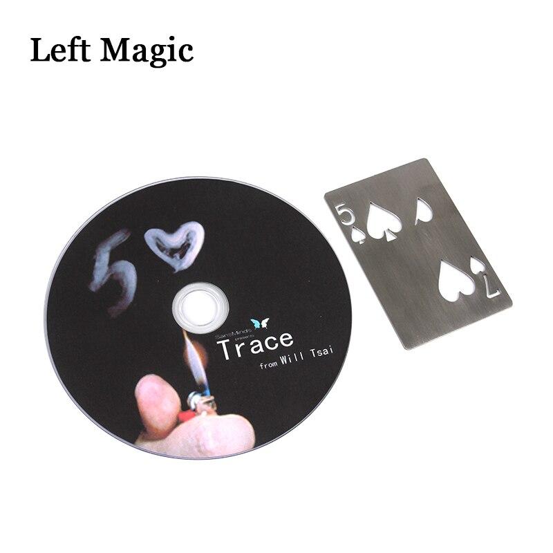 Trace (Gimmick and DVD) de Will Tsai -Magic Tricks impactantes - Juguetes clásicos - foto 5