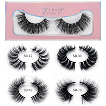 Mangodot Mink Eyelashes 100% Cruelty free Handmade 3D Fake Lashes Full Strip Soft False Makeup SD78